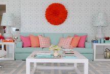 Lush Living Rooms