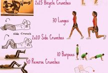 Excersizes / Excersizes to do at home!