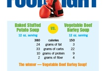 BJC HealthCare Food Fight - Make the Healthy Choice / Two foods face off for the healthy crown. Which one will be digested a champion?  / by BJC HealthCare