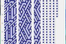 patrones Square & peyote stitch