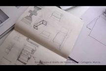 Juanjo Almagro Interiorista. / Diseñando Museo Repsol Cartagena Murcia. Bocetos. Juanjo Almagro Interiorismo Murcia. http://juanjoalmagro.houzz.es/