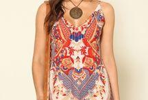 Mini dress print
