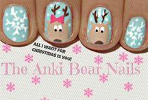 Nail art winter