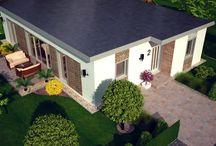 Dunajský Klátov, Predaj : Moderné rodinné domy / Pozemok 7,3 árový.Dispozícia: 3 samostatné izby (jedna so šatníkom), obývačka s kuchyňou, kúpeľňa, predsieň, technická miestnosť, terasa, zastavaná plocha 136 m2. Úžitková plocha 115 m2.Dom je prakticky riešený, energeticky úsporný. Strecha domu je zateplená. Dom je vykurovaný elektricky. Teplá voda je zohrievaná elektrickým bojlerom. V obývacej izbe je moderný krb. V cene domu je aj oplotenie, chodníky okolo domu, terasa a terénne úpravy. Cena od 109 000 Eúr. Info: 0907 524 129