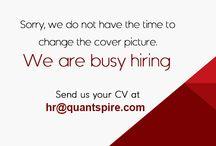 Openings @ Quantspire / Job Offers, Job Openings, Vacancies at Quantspire