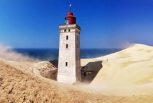 Lighthouses / Untruistic guidance around the World, and fascinating and often very beautiful landmarks loaded with faith through history. Signs of mankind interacting, merging and getting together.