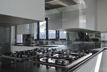 Liquid Toughened Mirror Glass Splashbacks / Toughened Mirror Given a custom effect suited to your preference!