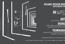"Fuorisalone 2015 /  Milan Design Week  14/19 April 2015""Arte Design Tecnologia"" by Hi Lite Next"