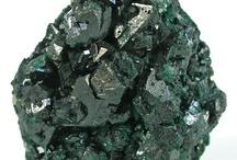 Atacamite, Clinoatacamite, Paratacamite /  Halogénures, polymorphes de Cu2Cl(OH)3