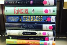 Book Spine Poetry / Enjoy some found poetry from Seymour Library.