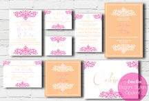 Love is...2014 Collection / A collection of beautiful, stylish and quirky wedding stationery designs.  http://www.lemonpiedesign.co.uk/personalised-wedding-stationery