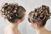Penteados de damas de honra