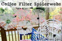 Coffee Filters / Coffee filter crafts and activities for kids. / by Jamie Reimer