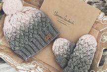 crochet knitting / horgolás-kötés
