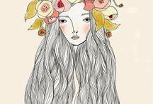 My Girls / My illustrations of ladies