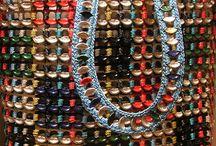 Mulepose med farvet clips