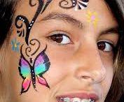 Maquillages enfant papillon