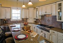 Family-Friendly Kitchen Selections / Sample ideas for your family-friendly kitchen - Design services available at Stagetecture.com