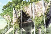 Architecture : Sci-fi visuals
