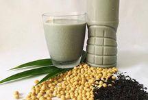 Cách làm sữa đậu nành mè đen