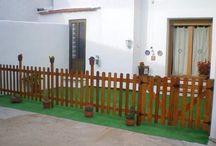 Portões de madeira