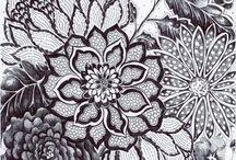 cut paper art work