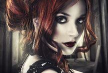 Goth punk steampunk