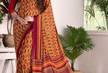 Office Wear Sarees / Sarees for working women who want to wear the Indian outfit to office with a complete formal look.