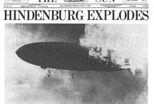 Disasters - Hindenburg and Titanic