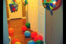 Kinders verjaarsdagpartytjies