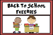 Back to School Freebies / Need some Back to School freebies to get you started this year?   This Pinterest Board is full of Freebies for the the classrooms K-5th Grade.