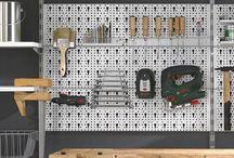 Werkzeugwand ⊗ ⊕ ⊥ / Werkzeugwand für Keller, Garage, Abstellraum oder Werkstatt