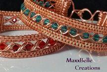 Wire Wrap tutorial bracelet
