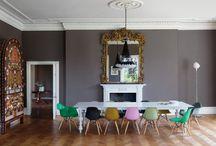 Color around the table / kleur rond de tafel / couleur autour de la table