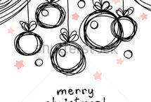 schizzi Natale