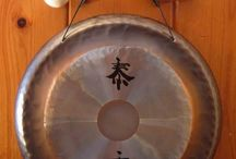 """Paiste Deco Gongs   7"""", 10"""", or 13"""" Gong on Stand or Hanger"""
