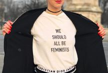 Feminist Tees / Wear them loud and proud! This the ultimate collection of fierce, feminist tees.