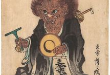 Japanese folklore [Yōkai (妖怪 )] / Japanese Folklore, Mythology, Spirit, Yokai