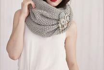 Снуды,шарфы спицами