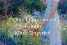 Mark Gingerich - Ohio Impressionist Painter / Paintings and Plein Air Workshops