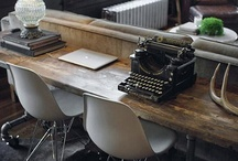 Rustic Chic- Home Office