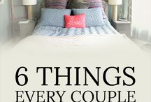 Romantic Bedrooms / Make your bedroom more romantic with this collection of beautiful, DIY and easy updates to your existing space. See tips to have a romantic bedroom on a budget from RomanticalAid.com