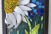 imagenes de vitral o mosaico