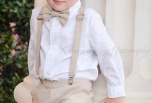 Ring bearers outfits