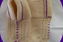 knitting. Örgü ve tığ işi