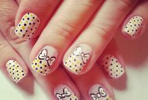Nail art found on Pinterest. / Nail art ideas.