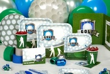 Golf Themed Party / Golf Party Supplies and Golf Themed Party Ideas.