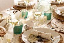 Una mesa de celebración
