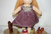 Mes poupées waldorf / Waldorf doll / Puppe Waldorf / Mes réalisations de poupées d'inspiration Waldorf Steiner Waldorf Steiner dolls Puppe Waldorf Steiner