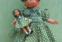 poupées anciennes et jouets vintages
